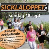 100 kr i rabatt för deltagare och publik vid Stockholms Brantaste